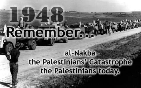 """Nakba"" Day must not be forgotten!"