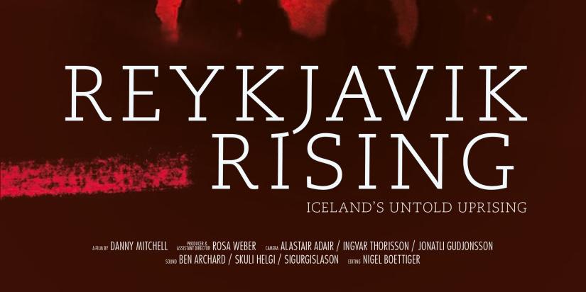 Torstain elokuvaillat: 19.5. Reykjavik Rising (Danny Michell,2014)